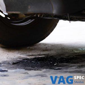 vw oil leak